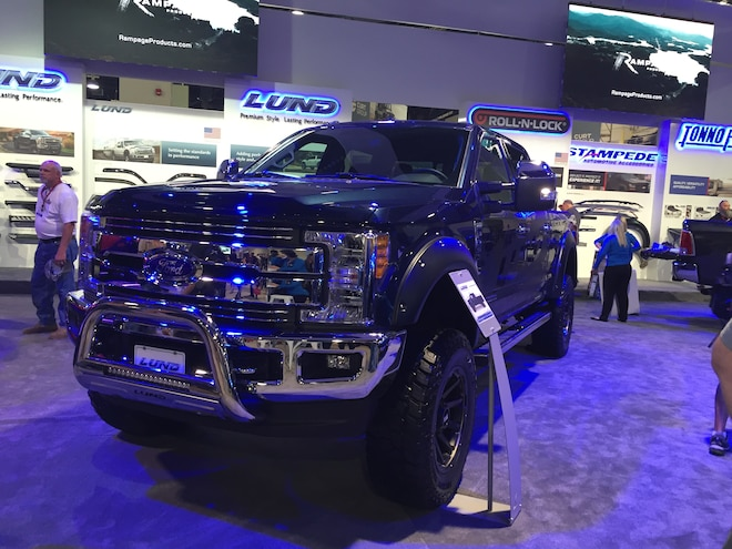 25 Upper South Hall 2017 Ford Super Duty Trucks 001