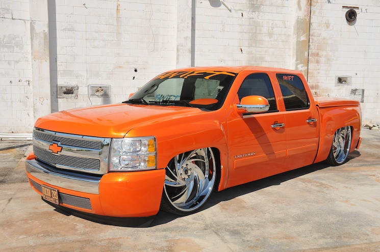 2007 Chevrolet Silverado- Oh So Orange