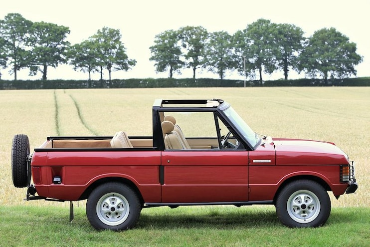 1973 Range Rover Convertible By Special Vehicle Conversions Side View