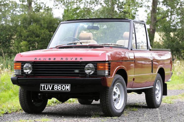 1973 Range Rover Convertible Hitting Auction Blocks in U.K.
