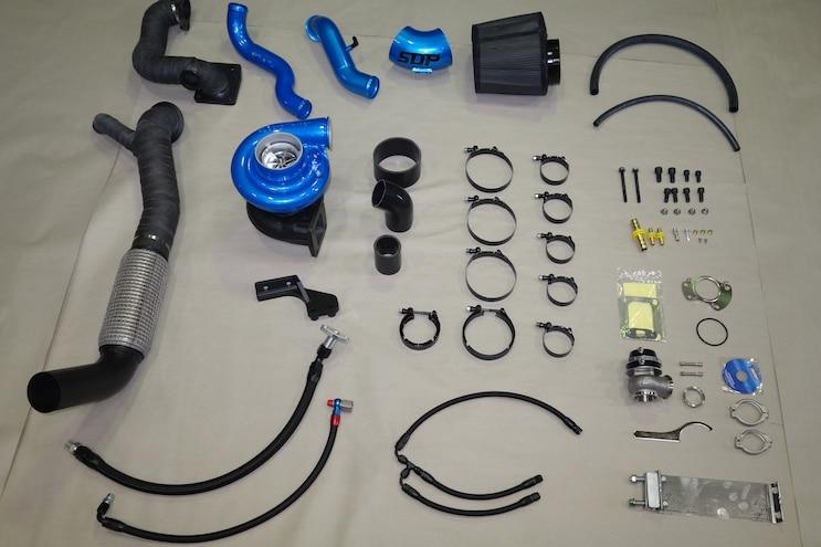 SDPs Compound Turbos Kit