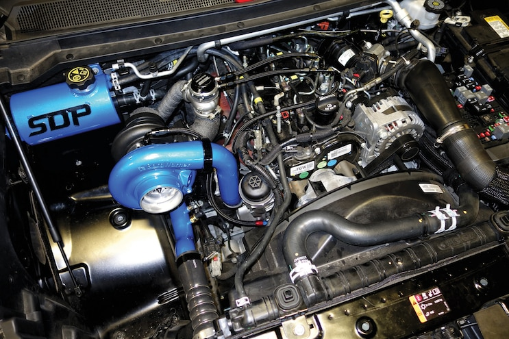 Little Giant: SDP's Compound Turbos Make Loads of Power