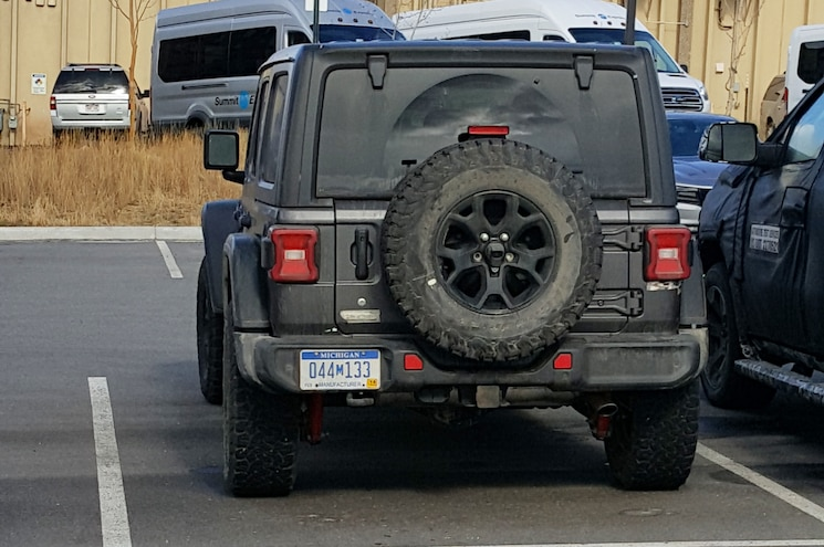2018 Jeep Wrangler Unlimited Rubicon Rear View In Colorado