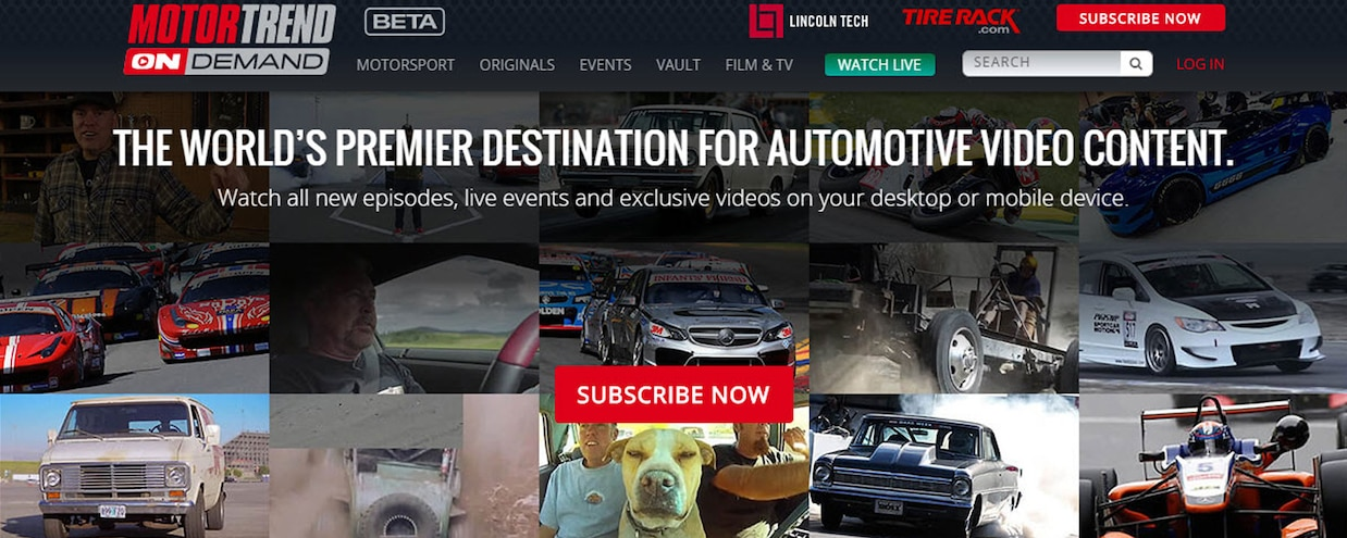 Motor Trend On Demand Is Here! More than 1,000 Hours of Gearhead Video!