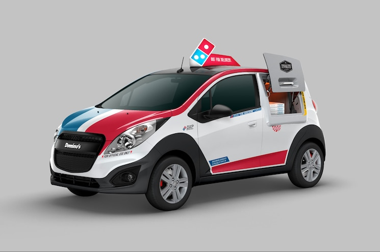 "Domino's Pizza Launches Custom-Built Chevrolet Spark ""DXP"""