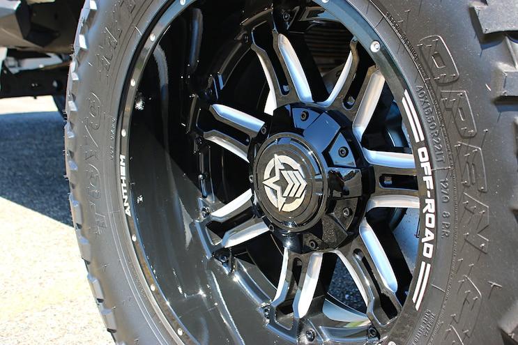Freaky Tiki 2016 Silverado 2500HD Wheel