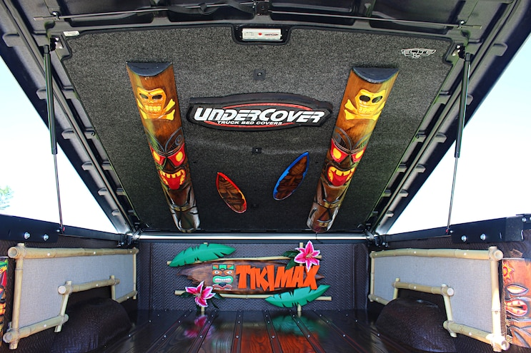 Freaky Tiki 2016 Silverado 2500HD Bed