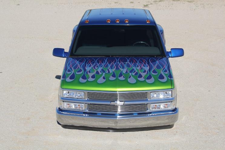 1996 Chevrolet 3500 Dualie Front