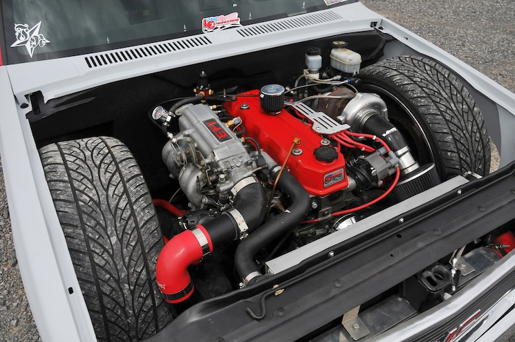 1988 Chevy S10 Red Rocket Engine