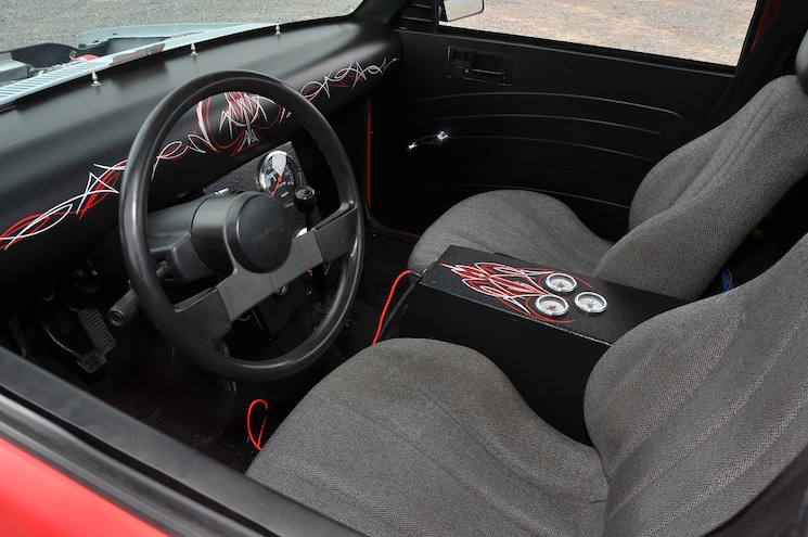 1988 Chevy S10 Red Rocket Interior