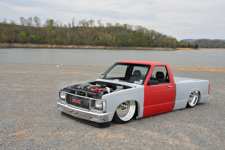 Busted Knuckles- 1988 Chevy S-10- Red Rocket