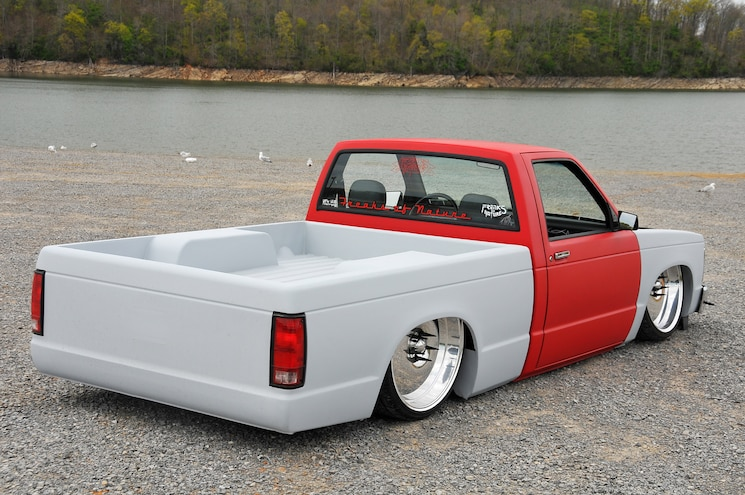 1988 Chevy S10 Red Rocket Rear