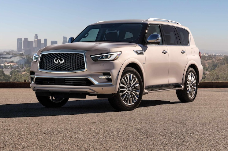 Infiniti Updates QX80 For 2018, Releases Pricing for New Flagship