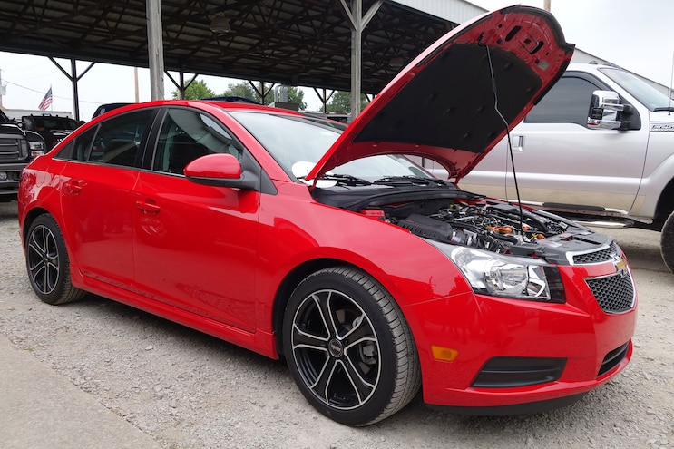 019 Red Chevy Cruze