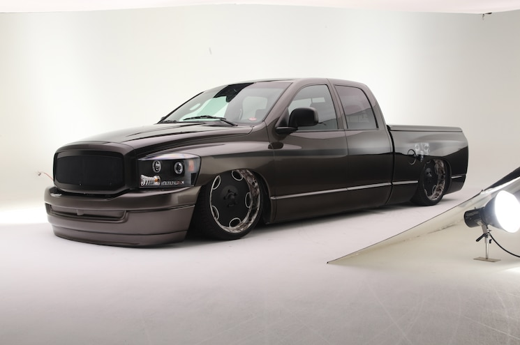 A quick change of plans makes this 2006 Dodge Ram 1500 into a stunner