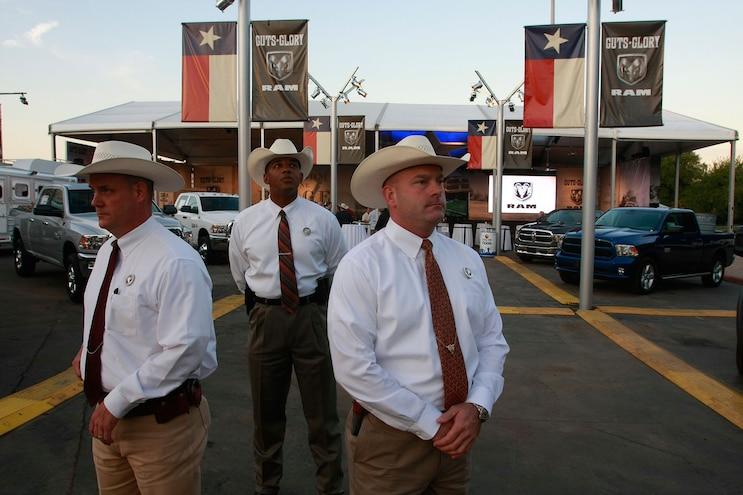 007 Auto News Ram Texas Rangers Law Enforcement Donation