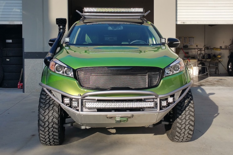 Monster 2016 Kia Sorento Teased Before SEMA