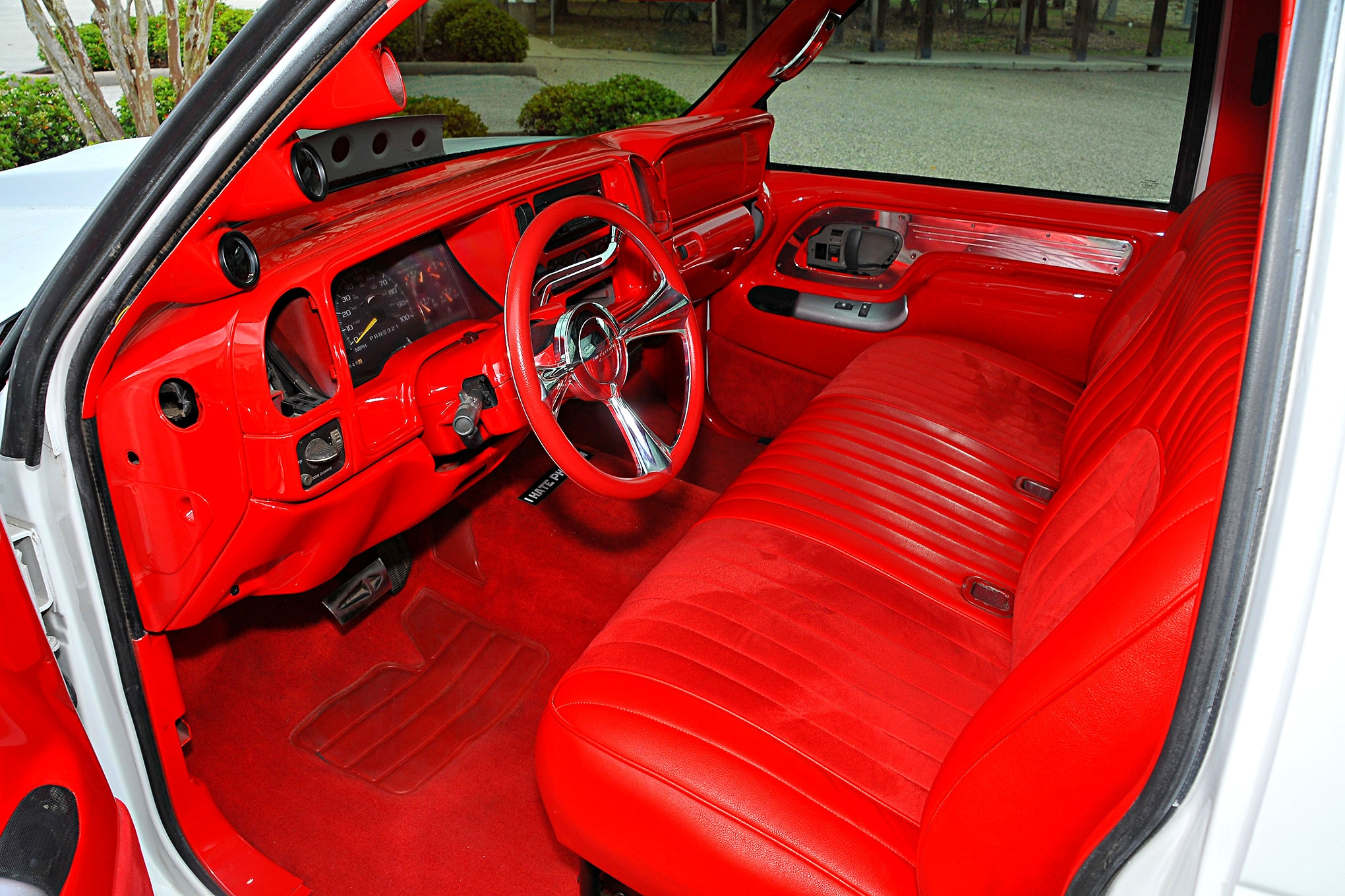 1997 Chevy Silverado Exzacked Interior