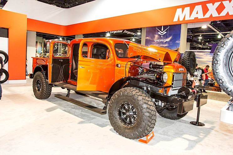 Trending Now Sema Special Power Wagon