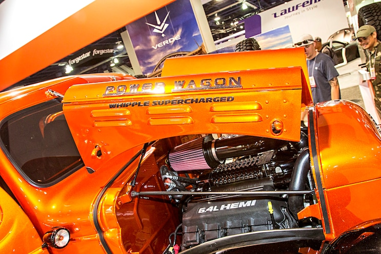 Trending Now Sema Special Power Wagon Engine