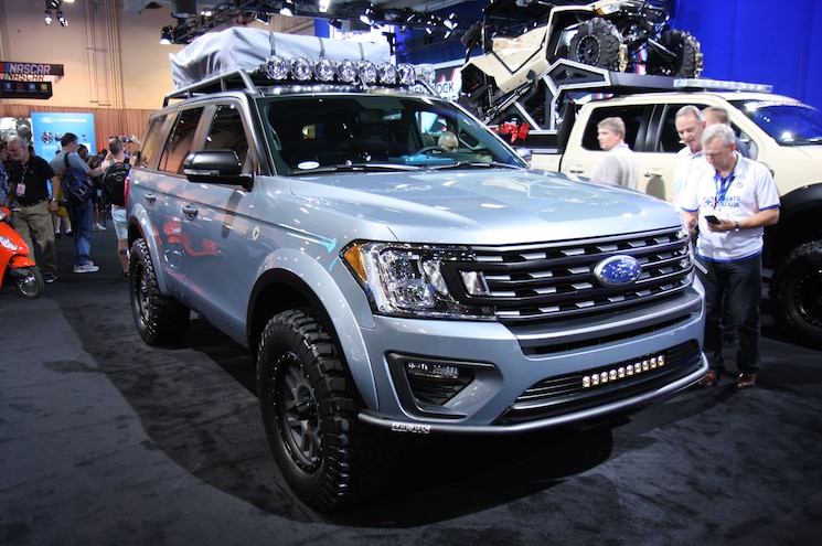 2017 Sema Show 2018 Ford Expedition Baja Forged Adventurer Lge Cts