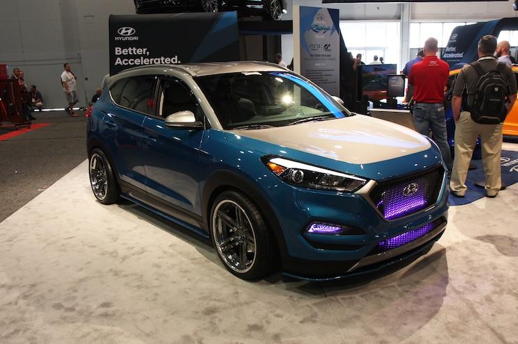 2017 Sema Show Hyundai Tucson Vaccar Concept