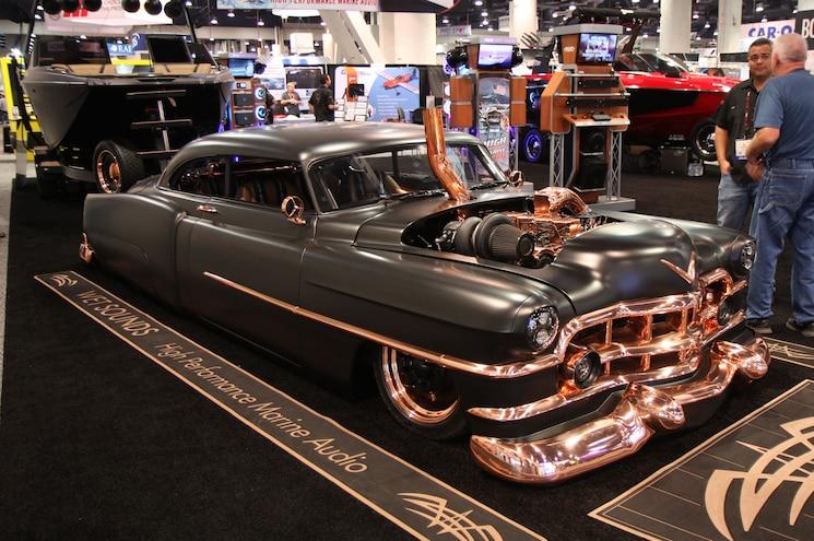 Sema 2017 1950 Cadillac Coupe Cummins