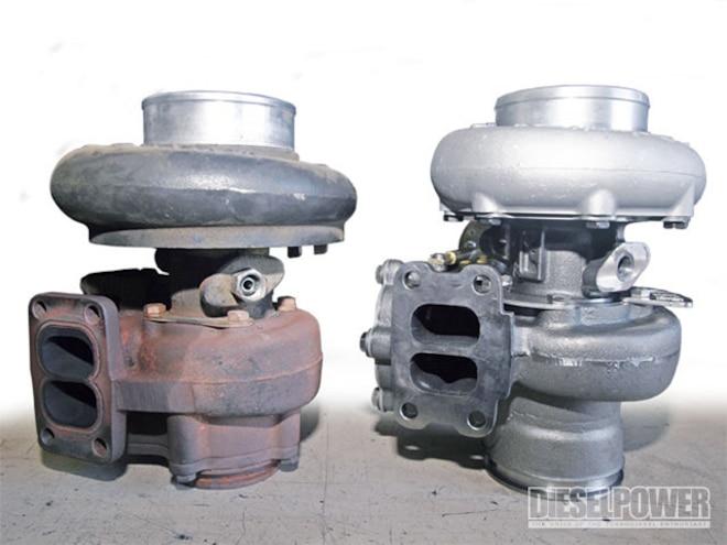 turbochargers bd Super B Turbo Vs Stock Hx35 Turbo