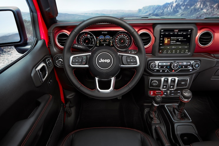 2018 Jeep Wrangler Interior 208