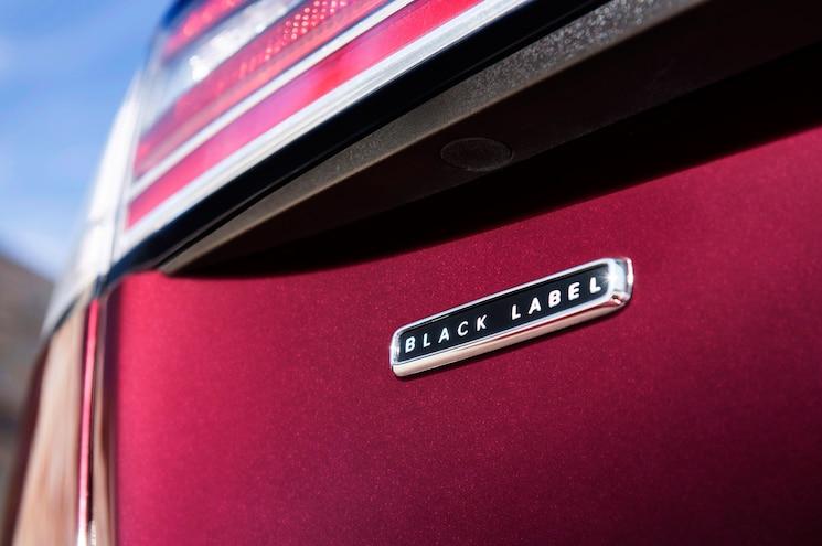2019 Lincoln Nautilus Black Label Exterior Rear Badging