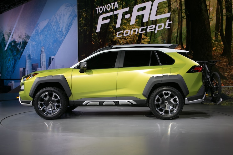 Toyota FT AC Concept Side