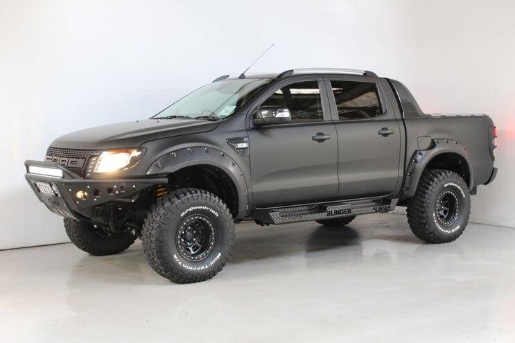 Global Ford Ranger Gets Unique, Dealer-Equipped Raptor Face Lift