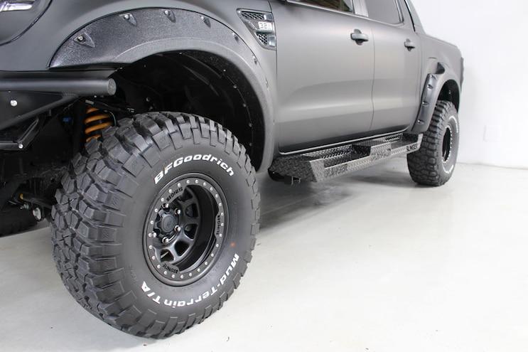 2016 Ford Ranger Raptor Accessories Running Boards
