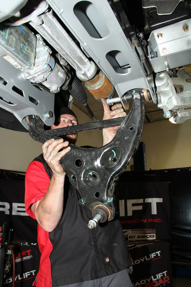 2015 Ford F 150 ReadyLIFT 7 Inch Lift Kit 18