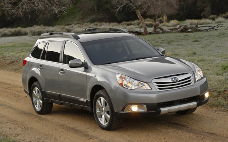 2010 Subaru Outback First Look