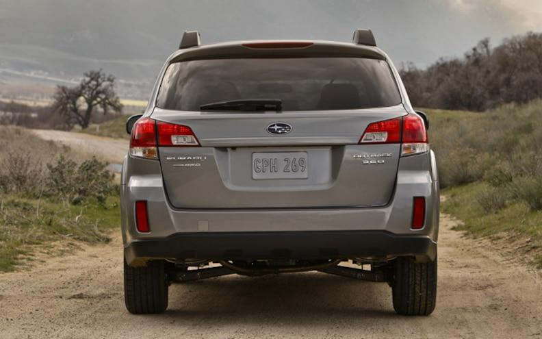 2010 Subaru Outback rear