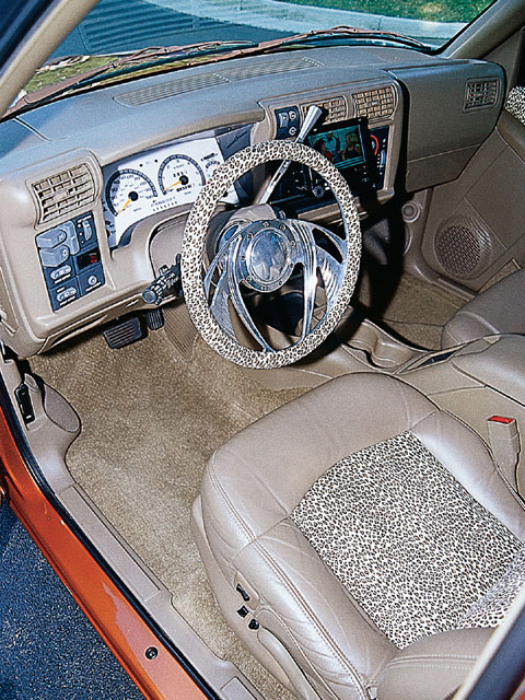 1996 Chevy Blazer steering Wheel