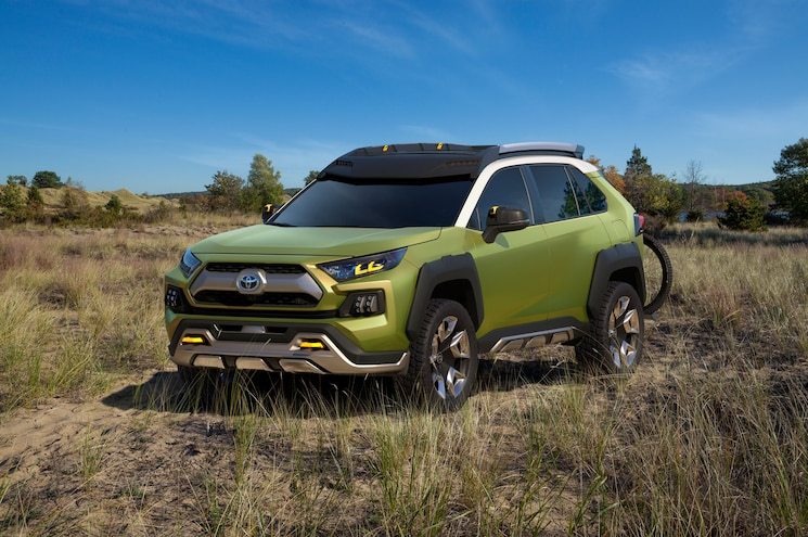 Toyota FT-AC Concept SUV Debuts at Los Angeles Auto Show