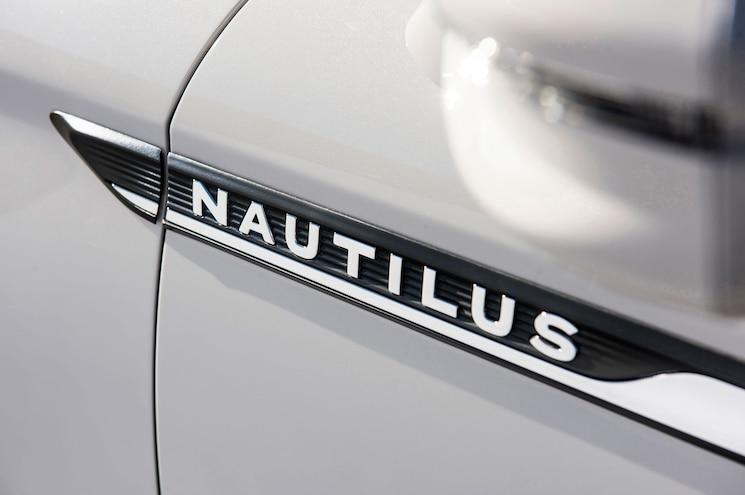 2019 Lincoln Nautilus Exterior Fender Badge