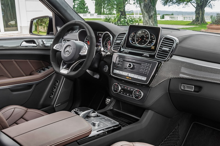 2017 Mercedes AMG GLS63 AMG Interior