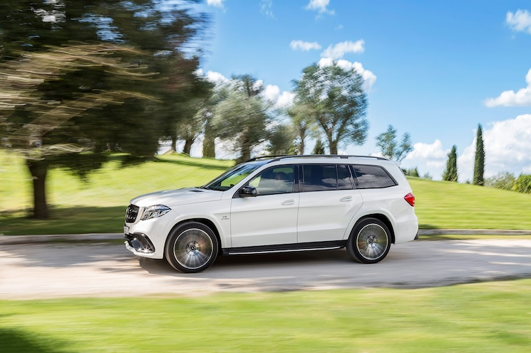 2017 Mercedes AMG GLS63 AMG Side In Motion