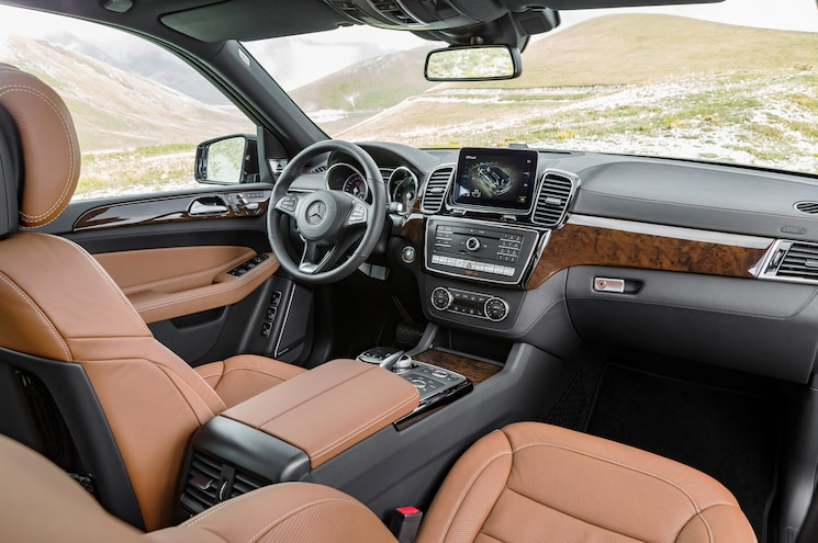 2017 Mercedes Benz GLS350d 4Matic Interior 02