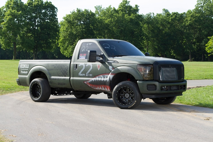2012 Ford F250 Mighty Service 1