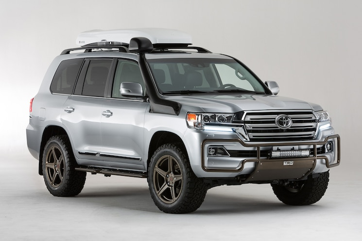 Toyota Land Cruiser TRD and Ever-Better LC200 Show Two Sides of Luxury SUV