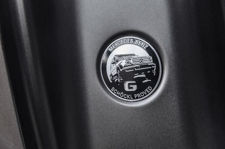 2019 Mercedes Benz G Class Exterior B Pillar Badge