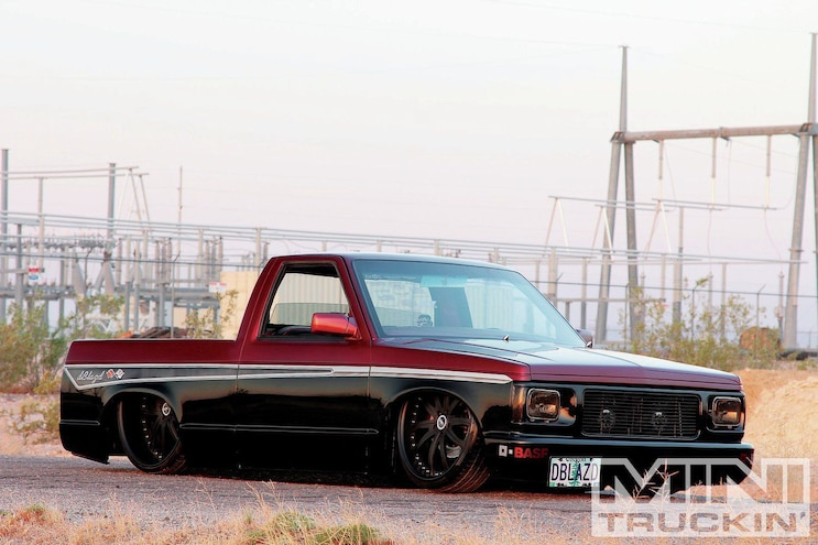 8 Bagged 1994 Chevy S 10