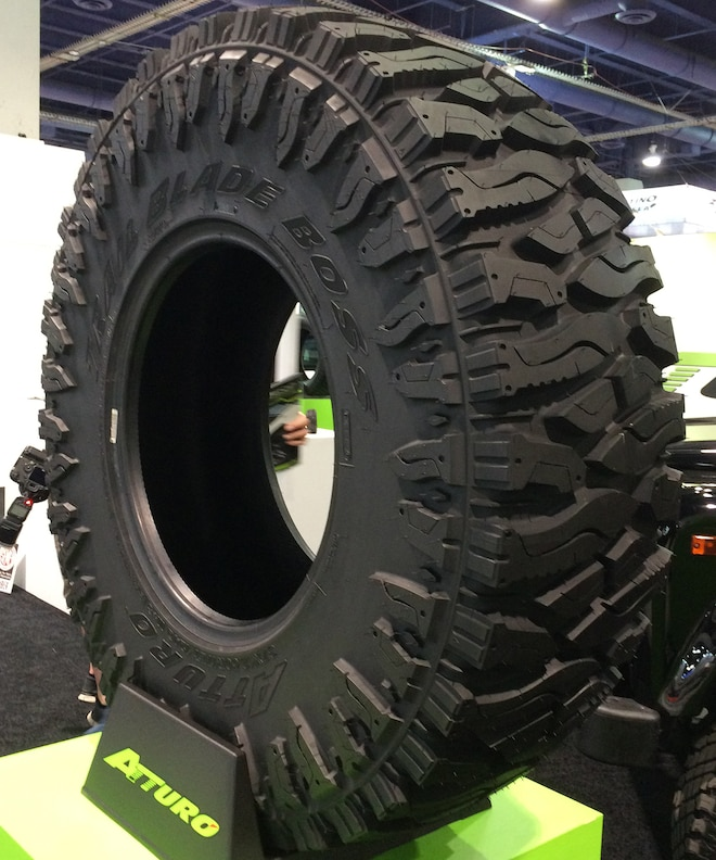 29 12 Crazy Tire Treads From The 2015 SEMA Show