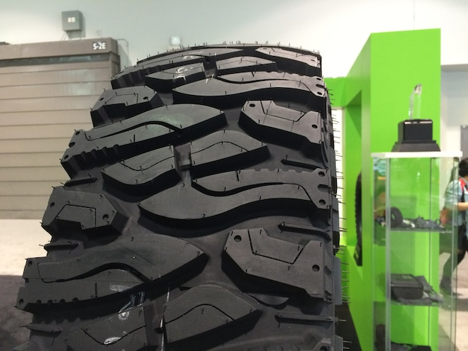 28 12 Crazy Tire Treads From The 2015 SEMA Show