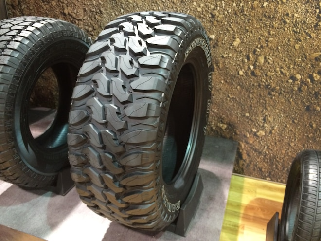15 12 Crazy Tire Treads From The 2015 SEMA Show