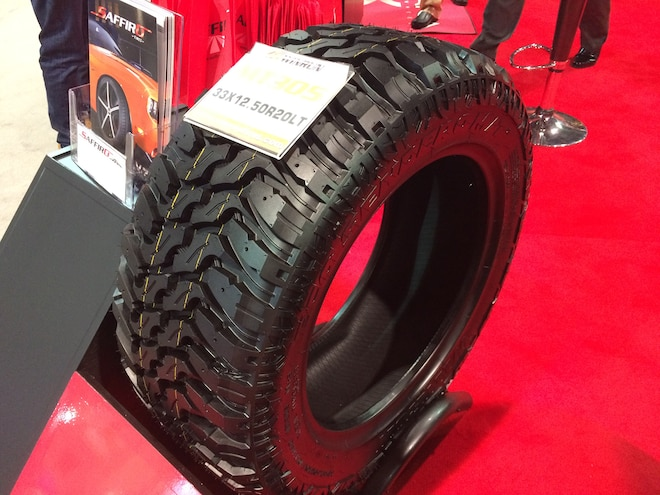 12 12 Crazy Tire Treads From The 2015 SEMA Show